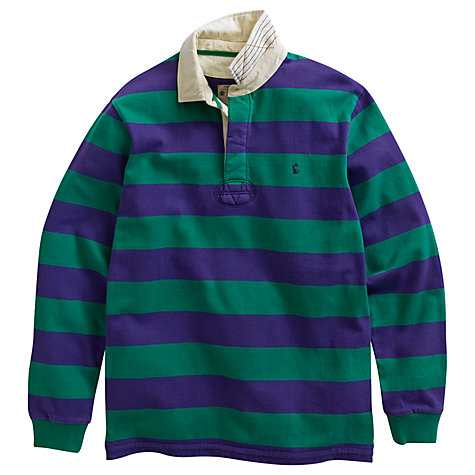 Buy Joules Norwell Cotton Long Sleeve Rugby Shirt Online at johnlewis.com