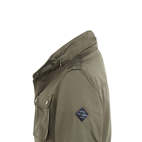 Buy Hackett London Summer Velospeed Jacket, Olive Online at johnlewis.com