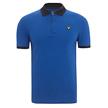Buy Lyle & Scott Contrast Collar Polo Top Online at johnlewis.com