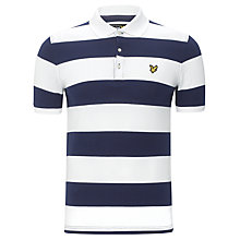 Buy Lyle & Scott Block Stripe Polo Top Online at johnlewis.com