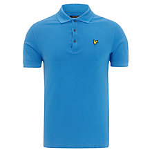Buy Lyle & Scott Pique Cotton Polo Shirt Online at johnlewis.com