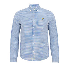Buy Lyle & Scott Gingham Check Long Sleeve Shirt Online at johnlewis.com