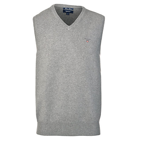 Buy Gant Solid Cotton Slipover Online at johnlewis.com