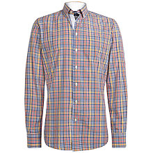 Buy Hackett London Carnaby Slim Shirt, Multi Online at johnlewis.com