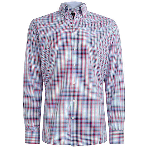 Buy Hackett London Brompton Slim Shirt, Multi Online at johnlewis.com