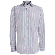 Buy Hackett London Fulham Classic Shirt, Pink/Navy Online at johnlewis.com