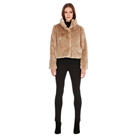 Buy Coast Alfine Faux-Fur Jacket Online at johnlewis.com