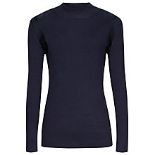 Buy Reiss Ouze Knitted Jumper, Blue Online at johnlewis.com
