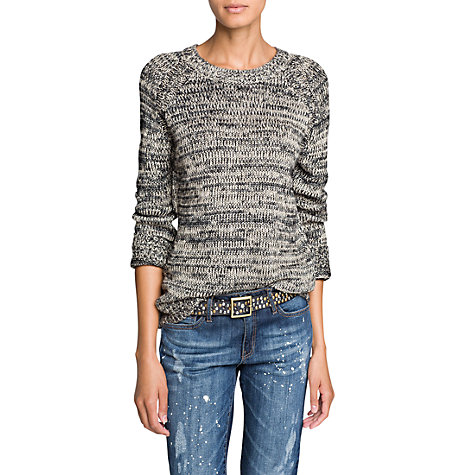 Buy Mango Metallic Jumper Online at johnlewis.com
