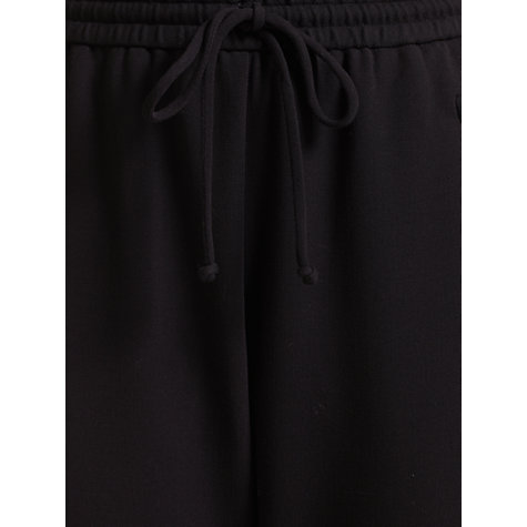 Buy Jigsaw Soft Peg Leg Trousers, Black Online at johnlewis.com