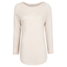 Buy Mango Metallic Polka Dot T-Shirt Online at johnlewis.com