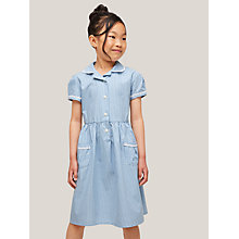 Buy John Lewis Gingham Cotton School Summer Dress Online at johnlewis.com