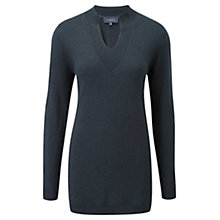 Buy Viyella Stitch Detail Tunic, Cedar Online at johnlewis.com