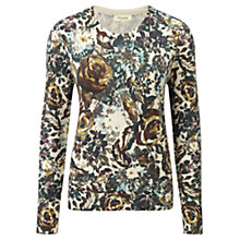 Buy Viyella Floral Printed Jumper, Cedar Online at johnlewis.com