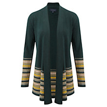 Buy Viyella Fairisle Hem Cardigan, Cedar Online at johnlewis.com