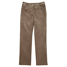 Buy Viyella Corduroy Trousers, Brown Online at johnlewis.com