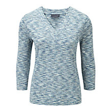 Buy Viyella Space Dye Jersey Top, Seafoam Online at johnlewis.com