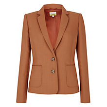 Buy Hobbs by NW3 Lucian Jacket, Apricot Pink Online at johnlewis.com