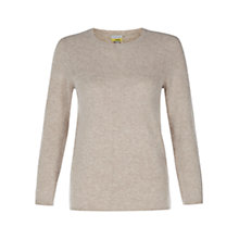 Buy NW3 by Hobbs Lucian Jumper, Oatmeal Online at johnlewis.com