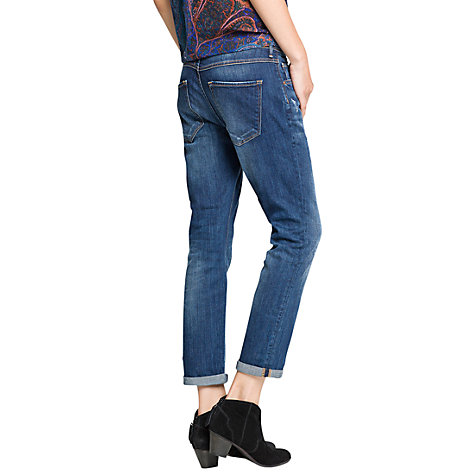 Buy Mango Dark Wash Boyfriend Jeans Online at johnlewis.com