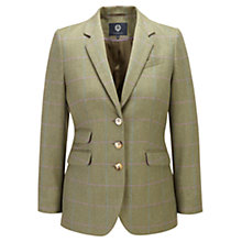 Buy Viyella Herringbone Jacket, Khaki Online at johnlewis.com