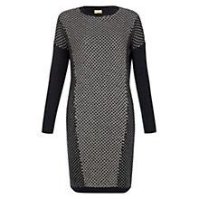 Buy NW3 by Hobbs Stitch Jumper Dress, Fern Oatmeal Online at johnlewis.com