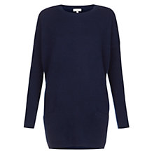 Buy Hobbs Izzy Jumper, Navy Online at johnlewis.com