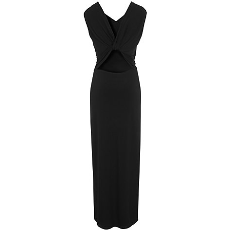 Buy Havren Grecian Maxi Dress, Black Online at johnlewis.com