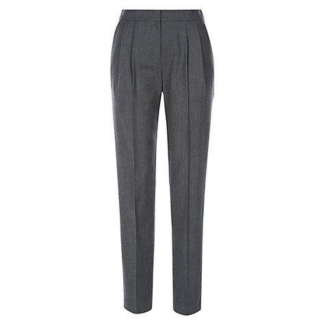 Buy Hobbs Meghan Trousers, Pewter Online at johnlewis.com