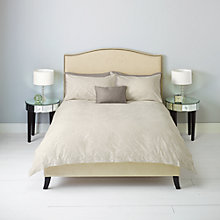 Buy John Lewis Rococco Damask Bedding, Natural Online at johnlewis.com