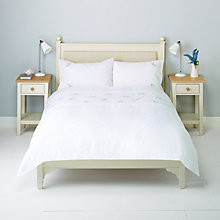 Buy John Lewis Effie Embroidered Duvet Cover and Pillowcase Set Online at johnlewis.com