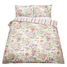 Buy John Lewis Jacobean Satin Bedding, Multi Online at johnlewis.com