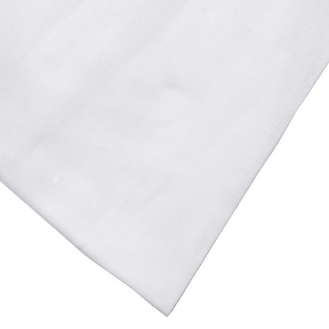 Buy John Lewis Arrietty Hemstitch Bedding, White Online at johnlewis.com