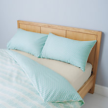 Buy John Lewis Dot Dash Geometric Duvet Cover and Pillowcase Set Online at johnlewis.com