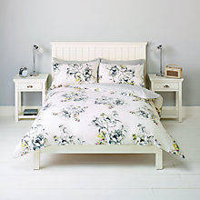 Buy John Lewis Emeline Floral Bedding, Yellow Online at johnlewis.com