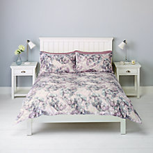 Buy John Lewis Hydrangea Floral Bedding, Damson Online at johnlewis.com