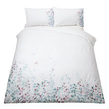 Buy John Lewis Klara Butterfly Embroidered Bedding, Duck Egg Online at johnlewis.com