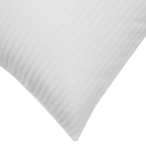 Buy John Lewis Regent Stripe 800 Thread Count Bedding, White Online at johnlewis.com