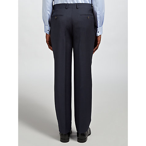 Buy Chester by Chester Barrie Wool Cashmere Tailored Suit Trousers, Navy Online at johnlewis.com