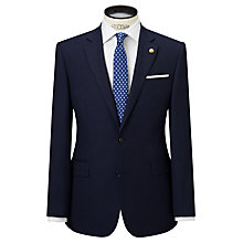 Buy Chester by Chester Barrie Birdseye Weave Suit Jacket Regular Fit, Midnight Blue Online at johnlewis.com