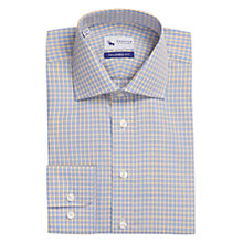 Buy Chester by Chester Barrie Tailored Mini Check Long Sleeve Shirt Online at johnlewis.com