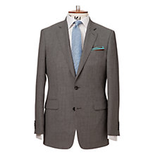 Buy Chester by Chester Barrie Birdseye Weave Suit Jacket Regular Fit, Mid Grey Online at johnlewis.com