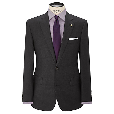 Buy Chester by Chester Barrie Pick and Pick Suit Jacket, Charcoal Online at johnlewis.com