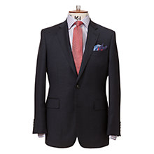 Buy Chester by Chester Barrie Micro Check Suit Jacket, Navy Online at johnlewis.com