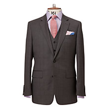 Buy Chester by Chester Barrie Windowpane Check Suit Jacket Regular Fit, Mid Grey Online at johnlewis.com