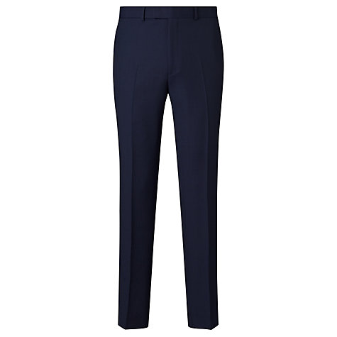 Buy Chester by Chester Barrie Birdseye Weave Trousers, Midnight Blue Online at johnlewis.com
