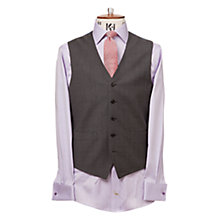 Buy Chester by Chester Barrie Windowpane Check Waistcoat, Mid Grey Online at johnlewis.com