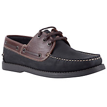 Buy John Lewis Leather Boat Shoes Online at johnlewis.com