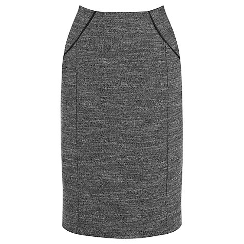 Buy Oasis Pencil Skirt, Multi Grey Online at johnlewis.com