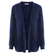 Buy Oasis Fluffy Cardigan, Blue Online at johnlewis.com